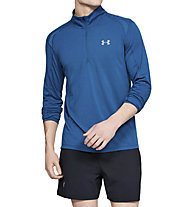 Under Armour Streaker 2.0 - maglia con zip running - uomo, Blue