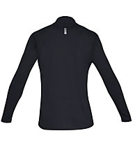 Under Armour Streaker 2.0 - maglia con zip running - uomo, Black