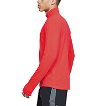 Under Armour Streaker 2.0 - maglia con zip running - uomo, Red