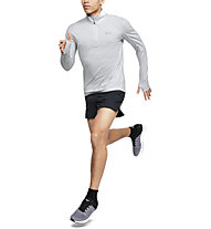 Under Armour Streaker 2.0 - maglia con zip running - uomo, Grey