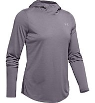 Under Armour Streaker 2.0 - Laufshirt mit Kapuze - Damen, Grey