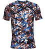 Under Armour Streaker 2.0 Inverse - maglia running - uomo, Grey/Blue/Red
