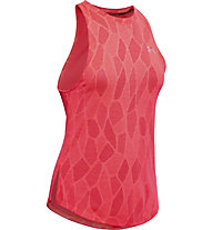Under Armour Streaker 2.0 Shift - top running - donna, Red