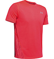 Under Armour Streaker 2.0 Shift Crew - maglia running - uomo, Light Red