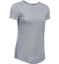 Under Armour Streaker - T-shirt running - donna, Grey