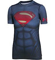 Under Armour Superman Suit Trainingsshirt Jungen, Blue