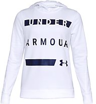 Under Armour Synthetic Fleece Pullover WM - Kapuzenpullover - Damen, White