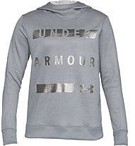 Under Armour Synthetic Fleece Pullover WM - Kapuzenpullover - Damen, Grey