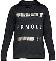 Under Armour Synthetic Fleece Pullover WM - Kapuzenpullover - Damen, Black
