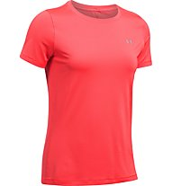 Under Armour Heat Gear Armour - T-Shirt - Damen, Red