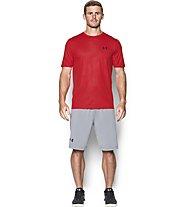 Under Armour UA Raid Microthread T-shirt fitness/palestra, Red
