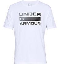 Under Armour Team Issue Wordmark - Trainingsshirt - Herren, White/Black