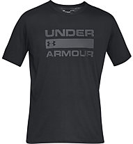 Under Armour Team Issue Wordmark - Trainingsshirt - Herren, Black/Grey