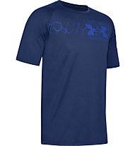 Under Armour Tech™ 2.0 Graphic - Trainingsshirt - Herren, Dark Blue/Blue
