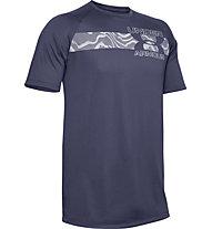 Under Armour Tech™ 2.0 Graphic - Trainingsshirt - Herren, Dark Blue/Grey