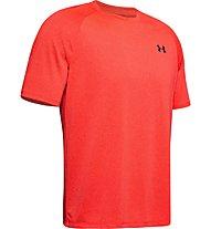 Under Armour Tech 2.0 Novelty - T-shirt - Herren, Red