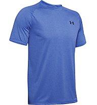 Under Armour Tech 2.0 Novelty - T-shirt - Herren, Light Blue