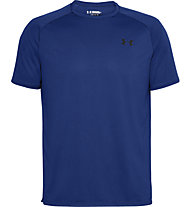 Under Armour Tech 2.0 Novelty - T-shirt fitness - uomo, Light Blue/Black
