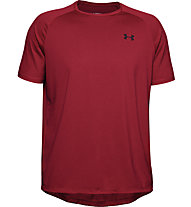 Under Armour Tech 2.0 Novelty - T-shirt fitness - uomo, Red/Black