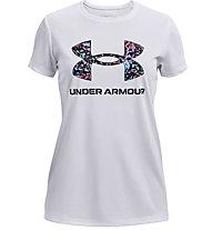 Under Armour Tech Big Logo - t-shirt fitness - ragazza, White