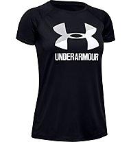 Under Armour Tech™ Big Logo Solid - T-shirt fitness - ragazza, Black