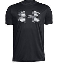 Under Armour Tech™ Big Logo Solid - T-shirt fitness - ragazzo, Black