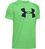 Under Armour Tech™ Big Logo - T-shirt fitness - bambino, Green