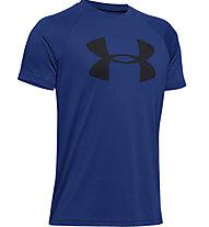 Under Armour Tech™ Big Logo - T-shirt fitness - bambino, Blue