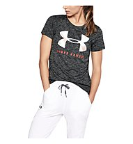 Under Armour Tech Graphic Twist SS - T-Shirt - Damen, Dark Grey