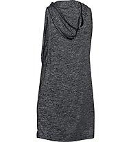 Under Armour Tech Hooded Tunic Twist - ärmelloses Kapuzenshirt Damen, Black