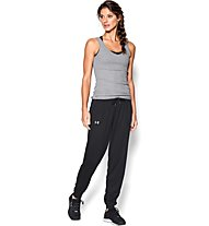 Under Armour Tech Solid pantaloni da ginnastica donna, Black