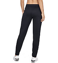 Under Armour Tech Terry - pantaloni fitness - donna, Black