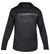 Under Armour MK-1 Terry Graphic - maglia fitness - uomo, Black