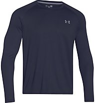 Under Armour Tech IS Shirt - Herren Trainingsshirt Langarm, Dark Blue