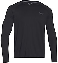 Under Armour Tech IS Shirt - Herren Trainingsshirt Langarm, Black