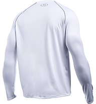 Under Armour Tech IS Shirt - Herren Trainingsshirt Langarm, White