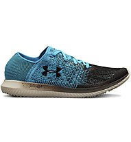 Under Armour Threadborne Blur - scarpe running neutre - uomo, Light Blue/Black