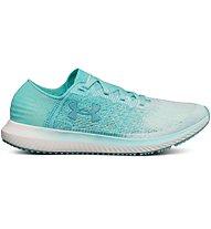 Under Armour Threadborne Blur W - scarpe running neutre - donna, Turquoise/White