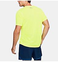 Under Armour Threadborne Fitted - T-Shirt Fitness - Herren, Yellow