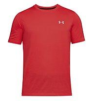 Under Armour Threadborne Fitted - T-Shirt Fitness - Herren, Red