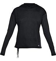 Under Armour Threadborne Hoody - maglia fitness - donna, Black