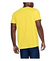 Under Armour Threadborne Streaker - Laufshirt - Herren, Yellow