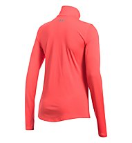 Under Armour Threadborne Streaker Half Zip - maglia running - donna, Coral