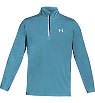 Under Armour Threadborne Streaker Run 1/4 Zip - maglia running manica lunga - uomo, Light Blue