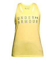 Under Armour Training Graphic Twist Tank - Top - Damen, Yellow