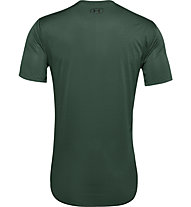 Under Armour Training Vent SS - Trainingsshirt - Herren, Dark Green
