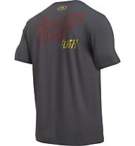 Under Armour Transform Yourself Retro Flash Herren Fitness T-Shirt Kurzarm, Grey