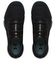 Under Armour TriBase Reign - Turnschuhe - Herren, Black/Green