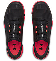 Under Armour TriBase Reign - Turnschuhe - Herren, Black/Red