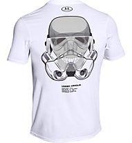 Under Armour Trooper Star Wars Kompressionsshirt Herren, White